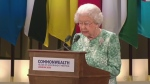 Extended: Queen addresses Commonwealth leaders