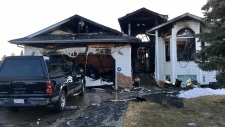 Firefighters were called to the home, on 40 St. and 22 Ave. at 3:20 a.m. Thursday, April 19, 2018.