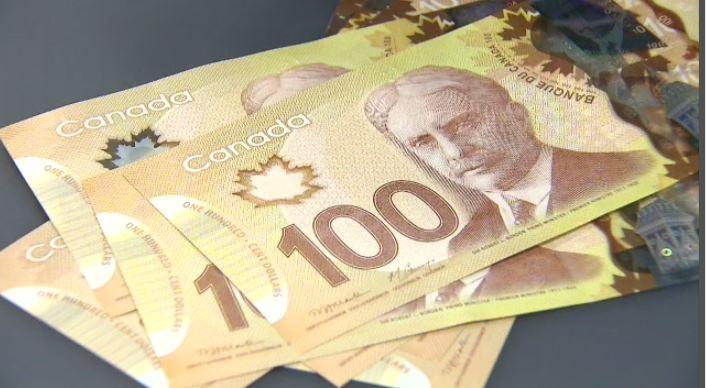 File Image of Canadian Money.