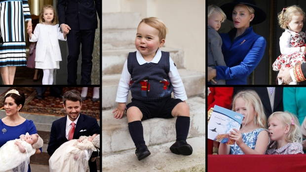 From almost-three-year-old Princess Charlotte of Cambridge to seven-year-old twins, Prince Vincent and Princess Josephine of Denmark, here's a look at some famous royal children.