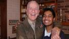 Rishi Sharma is on a mission to interview every Second World War combat veteran in the U.S. (Photo: GoFundMe/Rishi Sharma)