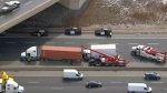 Crash on Highway 401 near Trafalgar