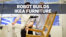 Team assembles robots to assemble Ikea furniture