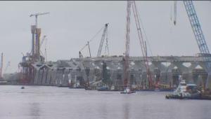 Since construction on the new Champlain Bridge began, keeping the original safe has cost upwards of $450 million dollars. (CTV Montreal)