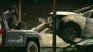 Fire destroys more than a dozen cars