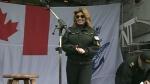 Shania Twain pays visit to B.C. naval base