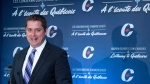 Conservative Leader Andrew Scheer responds to a question during a news conference Thursday, April 19, 2018 in Montreal. THE CANADIAN PRESS/Paul Chiasson
