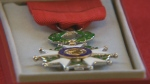 Magill was presented with the Legion of Honour for his defence of French territory at a ceremony on Thursday, surrounded by friends and family.