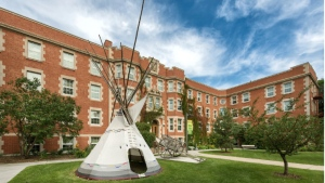 The University of Alberta's Pembina Hall houses the Faculty of Native Studies (University of Alberta)