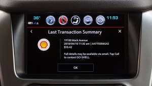 Marketplace app fuel payment feature (GM/ Chevrolet)