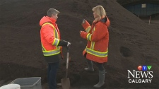 Composting Calgarians have diverted 53 million kilos of organic material from landfill. The city will be giving away some of that compost for free.