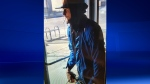 Windsor police are looking for a man who allegedly brandished a knife and took several eyeglasses from a store on Ottawa Street. (Courtesy Windsor police)