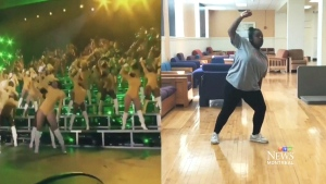 Trending: Students moves like Beyonce