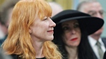 Singer-songwriter Loreena McKennitt attends a ceremony for the Order of Canada at Rideau Hall in Ottawa Friday, March 11, 2005. (THE CANADIAN PRESS/ Jonathan Hayward)
