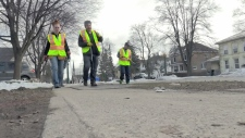 The City of Cambridge has hired eight people for a new program aimed at cleaning up discarded needles around the city.