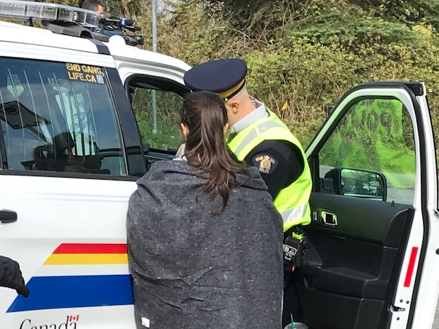 Pipeline protesters arrested in Burnaby
