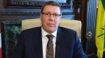 Saskatchewan Premier Scott Moe speaks with CTV's Question Period Host Evan Solomon in an interview that airs on April 22, 2018.