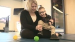 Community rallies to help tot with CP