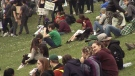 Young people flock to 4/20 rally and market