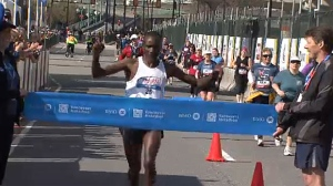 Benard Onsare has won the Calgary Marathon multiple times and has dreams of competing for Canada at the 2020 Summer Games.
