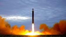 North Korea test launch