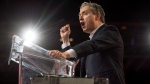 Francois-Philippe Champagne, Minister of International Trade, delivers a speech during the federal Liberal national convention in Halifax on Saturday, April 21, 2018. THE CANADIAN PRESS/Darren Calabrese
