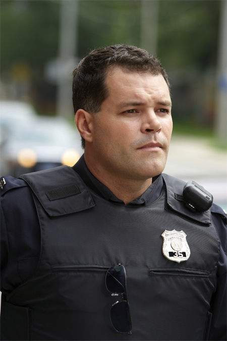Aaron Douglas as Frank Leo, the outspoken union head, in CTV's original series 'The Bridge.'