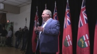 Doug Ford holds morning meeting in Aylmer