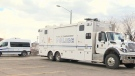 SPVQ set up mobile command post