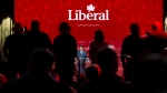Prime Minister Justin Trudeau delivers a speech at the federal Liberal national convention in Halifax on Saturday, April 21, 2018. THE CANADIAN PRESS/Darren Calabrese