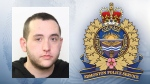 Edmonton police say Adam Basque allegedly sexually assaulted a woman in a southeast Edmonton business on Friday, April 20, 2018. (Supplied)