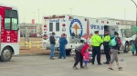 Breakfast for first responders of Broncos crash