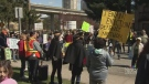 Protesters fight Metrotown plan
