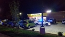 The Metro Nashville Police Department responds to a suspected mass shooting at a Waffle House near Nashville, Ten., on Apr. 22, 2018. (Metro Nashville PD)