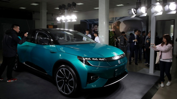 Electric Cars Are The Future At Chinas Auto Show CTV News Autos - Concept car show