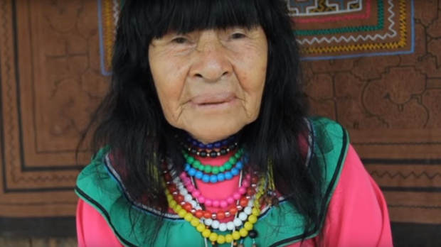 Eighty-one-year-old Arevalo Lomas death is said to have sparked unrest in the Ucayali region of the Peruvian Amazon rainforest. (Temple of the Way of Light via YouTube)