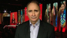 Former Chief Campaign Strategist for Barack Obama David Axelrod on CTV's Question Period on Sunday, April 22, 2018. (CTV News)