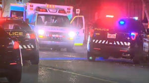 Two men taken to hospital after pair of early morning crashes | CTV News