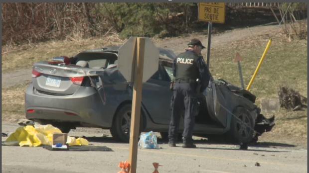 Car Crash Calgary Today