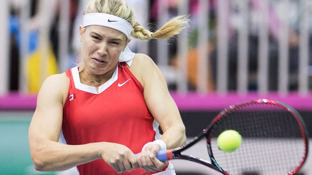 Canadian Eugenie Bouchard Wins In 1st Round At Asb Classic Ctv News