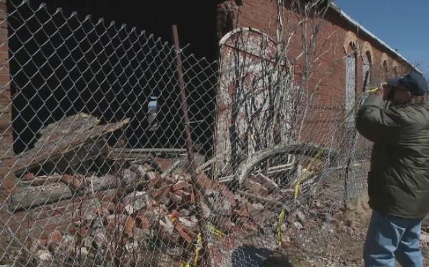 Council to demolish piece of Springhill mine history   CTV News Atlantic