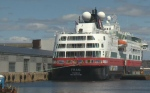 First cruiseship of the season arrive in Halifax