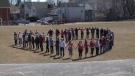 resident resist soccer field