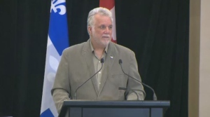 The Premier, during Sunday's assembly at Dawson College, assured that he never personally took for granted the vote of English-speaking Quebecers.