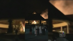 Local family escapes resort fire in Cancun