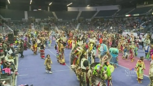 Powwow underway in the Queen City