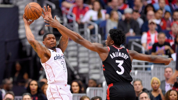 Raptors rally to oust Wizards