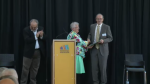 The work of local volunteers was recognized at a special ceremony in Kitchener.