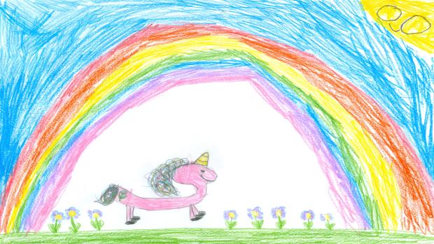 Ellie Cooper, 7 years old, Grade 2, St. Emily Catholic School