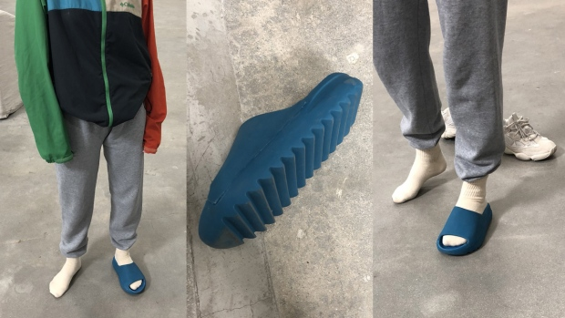 9ac8700f310e8 Are these 3D printed    Social media rips Kanye West s Yeezy shoes ...